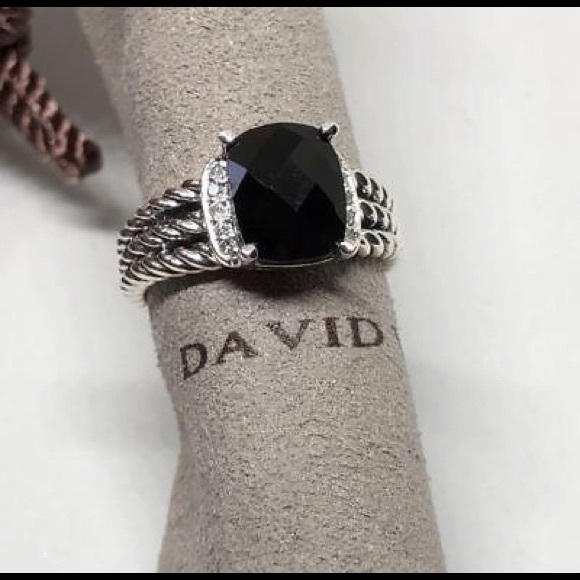 0acdb4111fe2f David Yurman Jewelry - David Yurman Black Onyx Petite Wheaton Ring